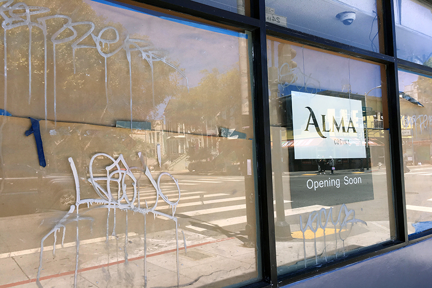 Mural misstep heightens the risk of opening a new restaurant