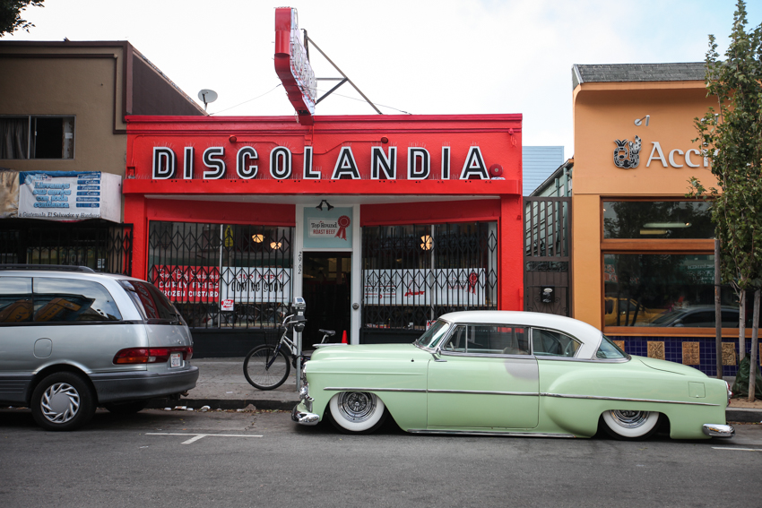 A blast from the past: Discolandia
