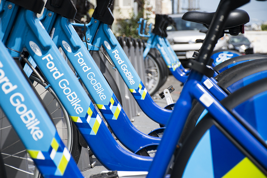 Free rides on Ford GoBikes tomorrow