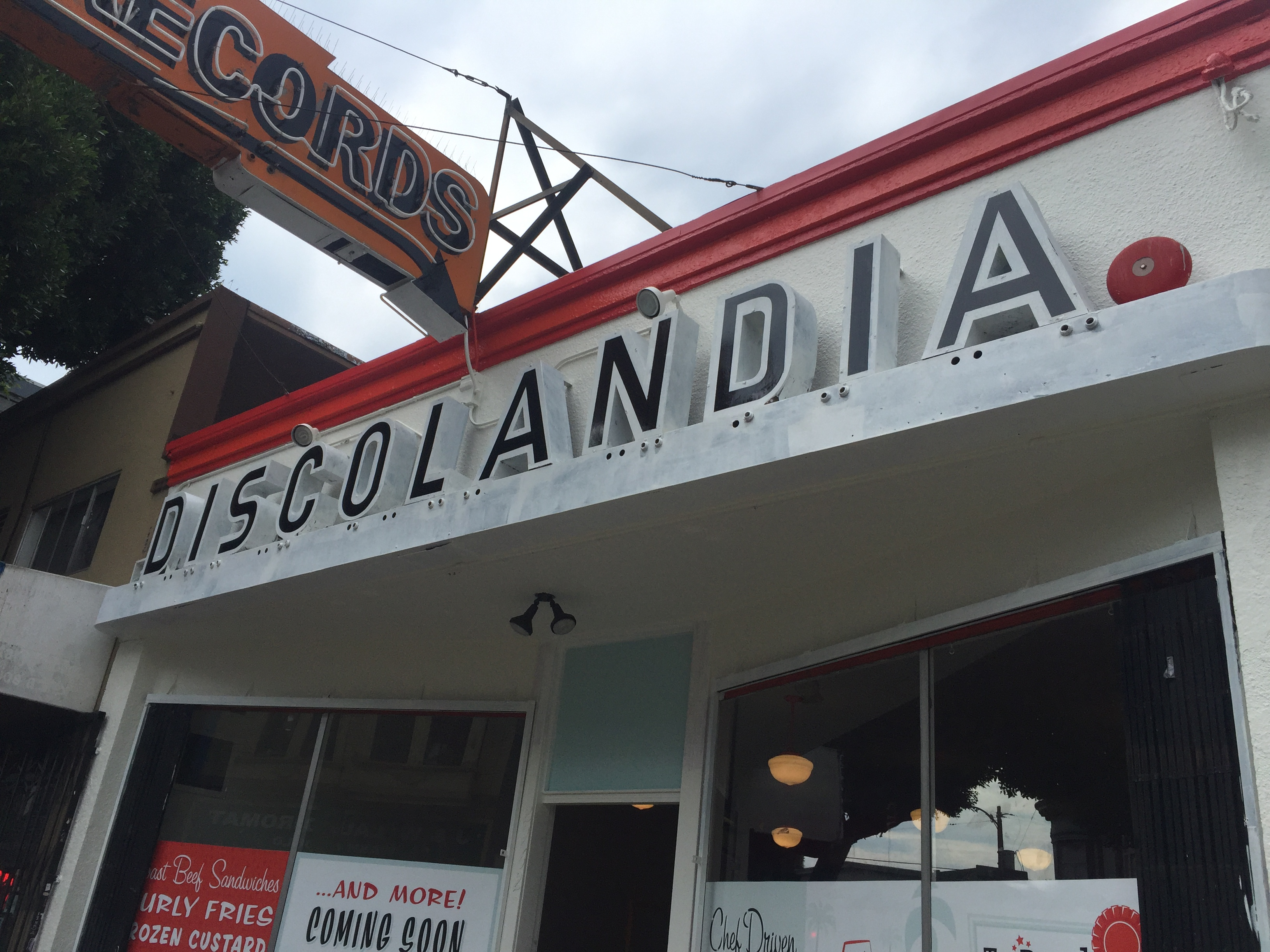 The Discolandia sign is here to stay