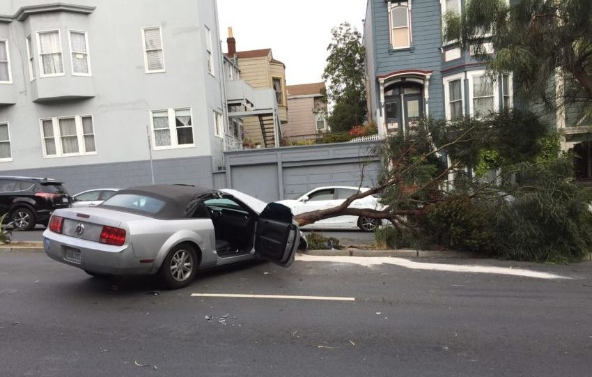 SF Uber driver cited in crash on Guerrero