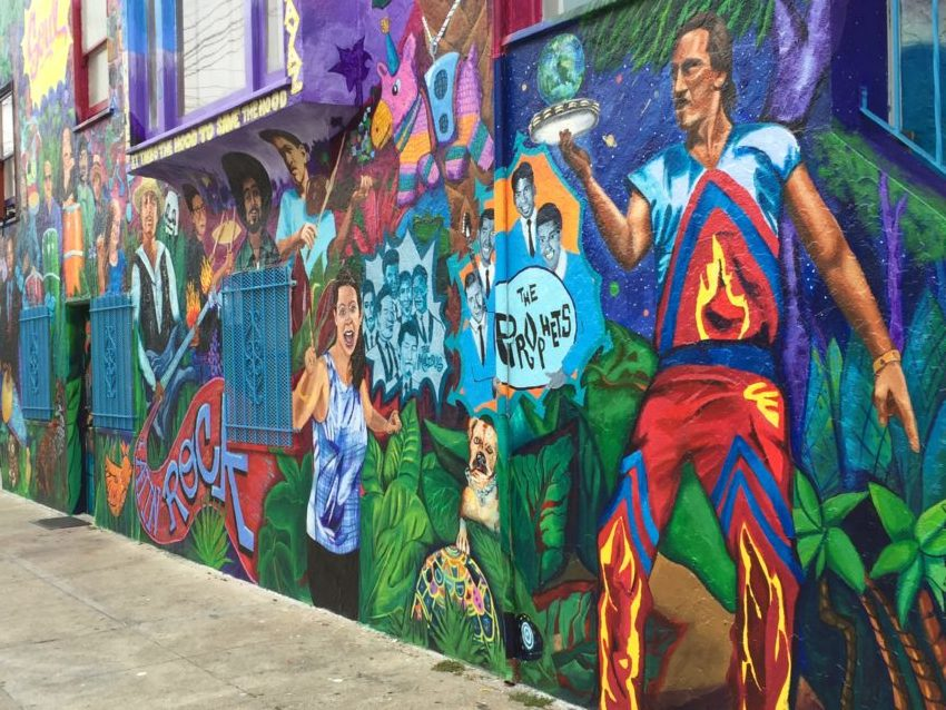 New Mural pays tribute to Latin rock legends