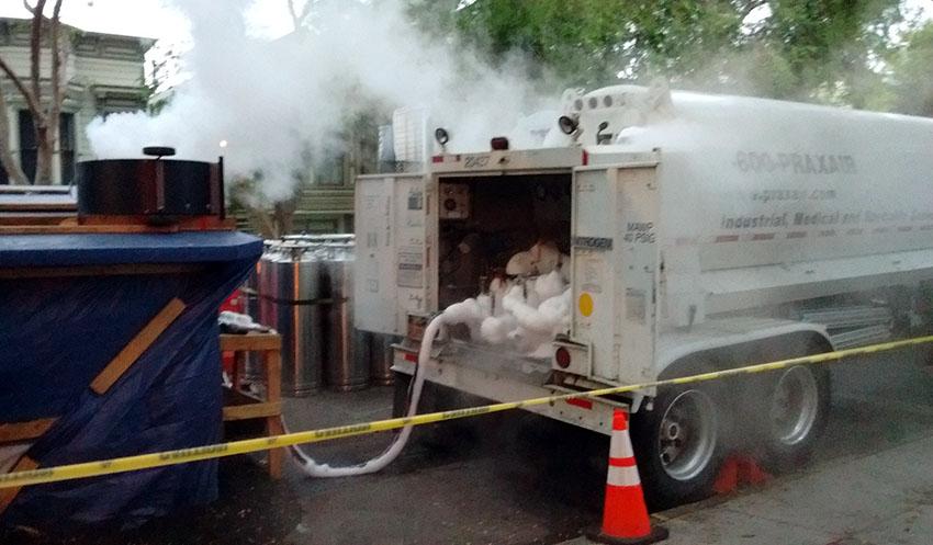 SNAP: Fog Machine on Folsom?