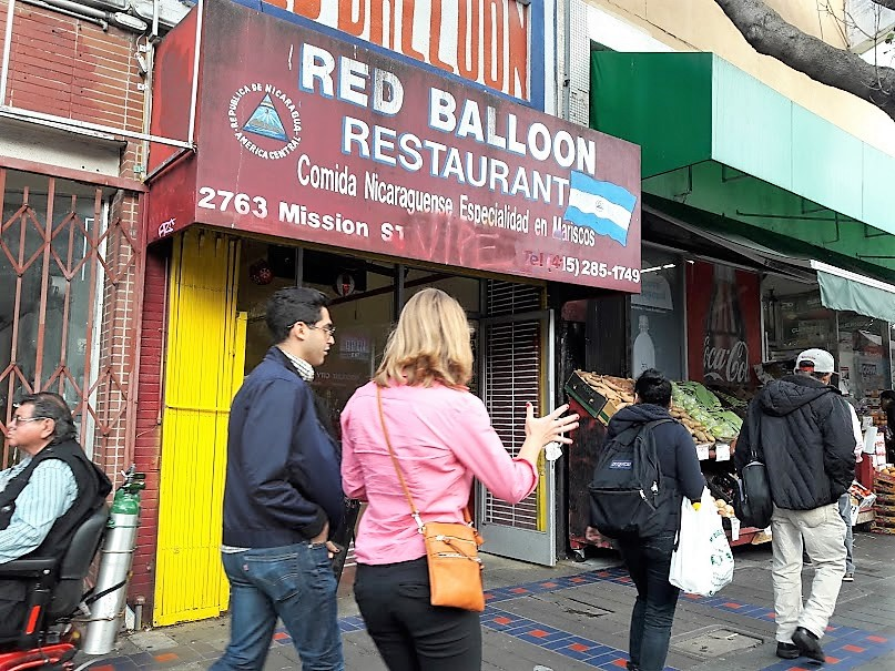 Red Balloon — Comida Nica in the Mission