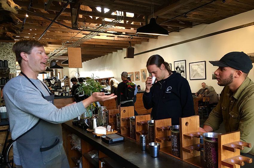 Without permission: SF 'Coffee roasters are surfers riding waves of energy'