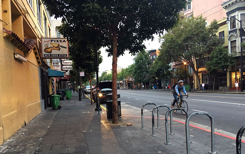Without Permission: Early a.m. in the Mission