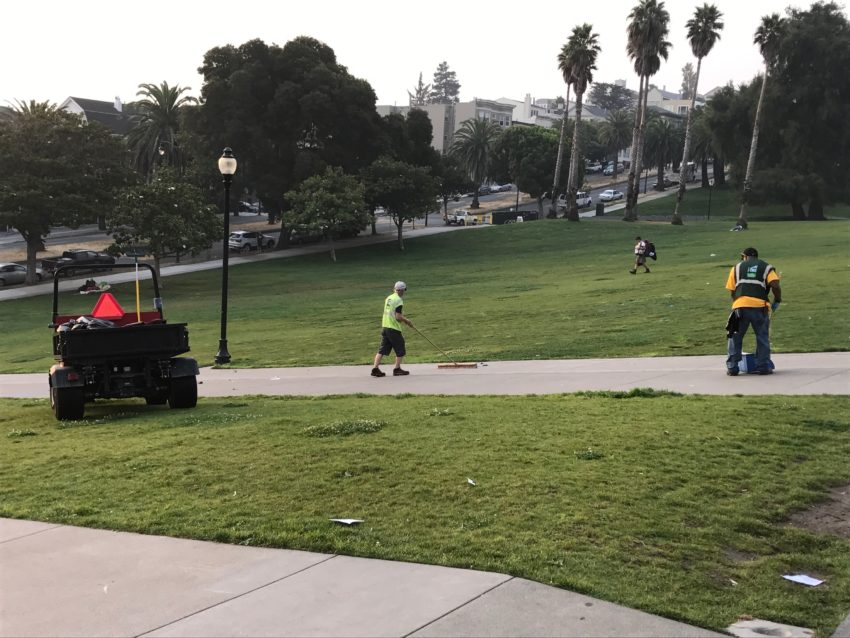 SNAP: Labor Day starts in Dolores Park