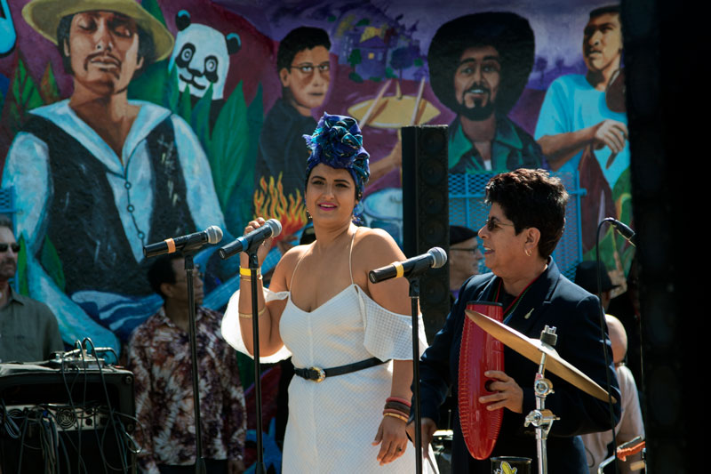 Latin Rock rocks at Mission District fiesta