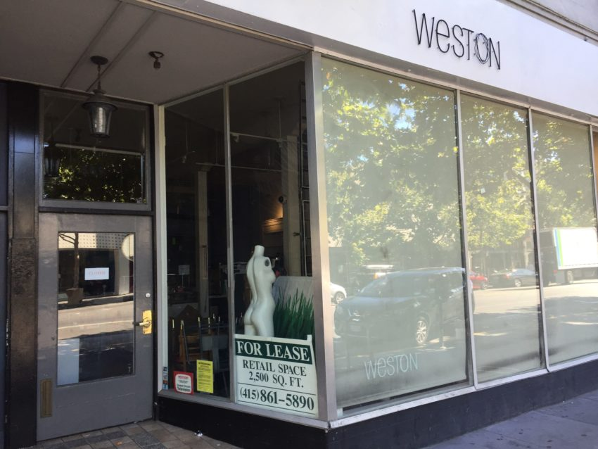 Weston Wear shutters after 36 years in SF Mission