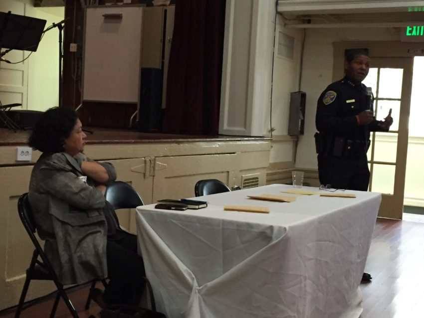 SF Police Chief talks POA and reform with Mission community