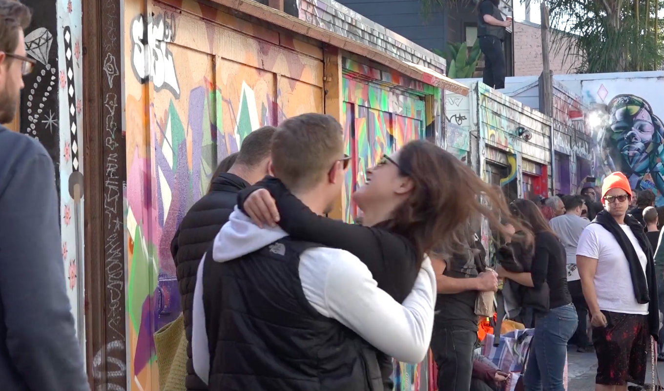 VIDEO: Clarion Alley Celebrates 25 Years of Murals