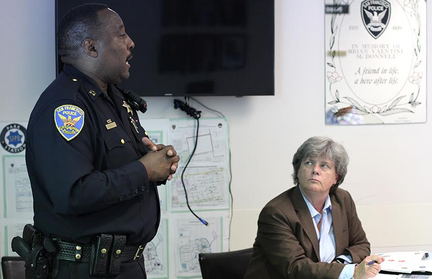 SFPD Park Station captain reassigned, replacement takes over on Saturday