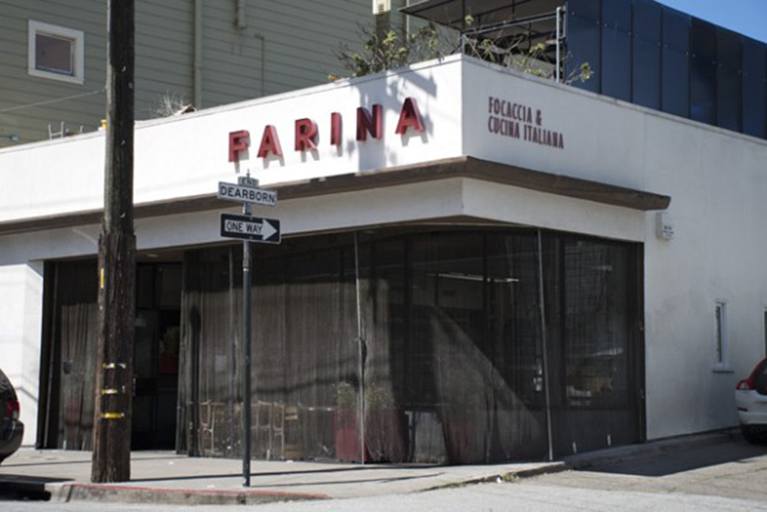 Shuttered Farina restaurant evicted from 18th Street space