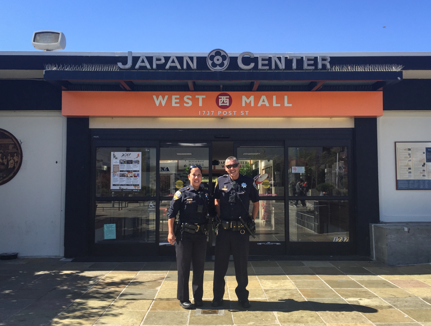 Northern Station beat officers bond with community in SF's Japantown