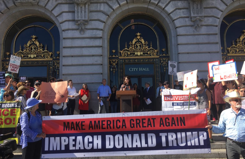 District supervisor asks San Francisco to call for Trump's impeachment