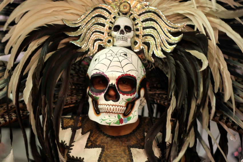 'Colorful, joyful, beautiful'  Day of the Dead in photos