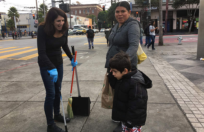 Can the city clean up the 16th Street BART plaza?
