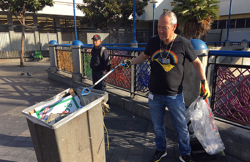 Where so many have failed, two SF officials take on cleaning up the 16th Street BART Plaza