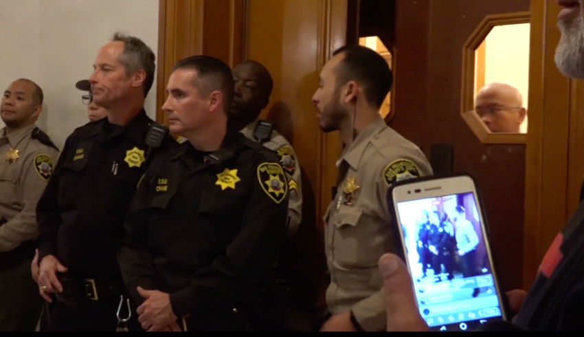 Video: The SF Police Commission votes yes on Tasers