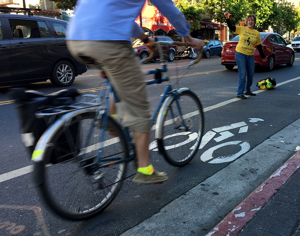 Protected bike lanes coming to stretch of Valencia Street in four months