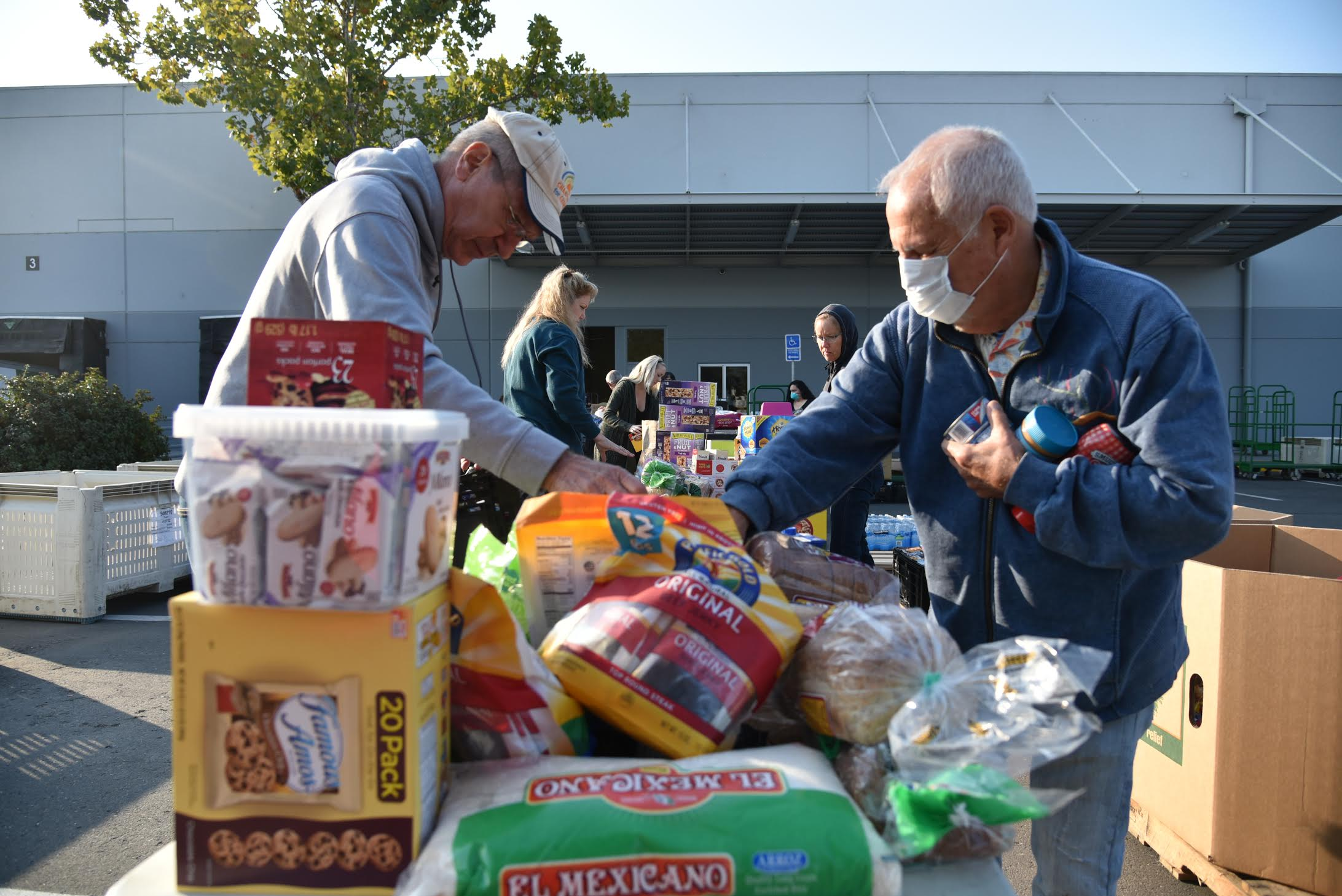 After wildfires, North Bay food bank steps up to address staggering need