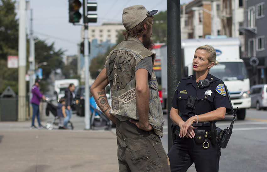 Photos: Haight-Ashbury officer builds trust on the beat