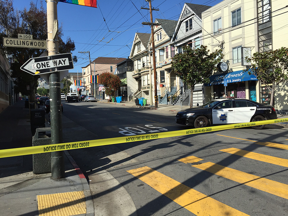 Cop and suspect in hospital after Halloween night shootout in SF (updated)