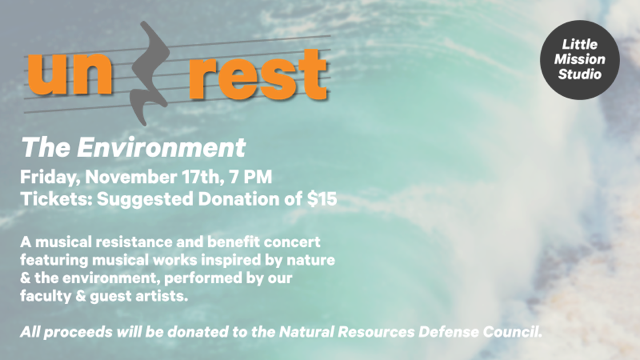 Little Mission Studio musicians will perform to fundraise for environment