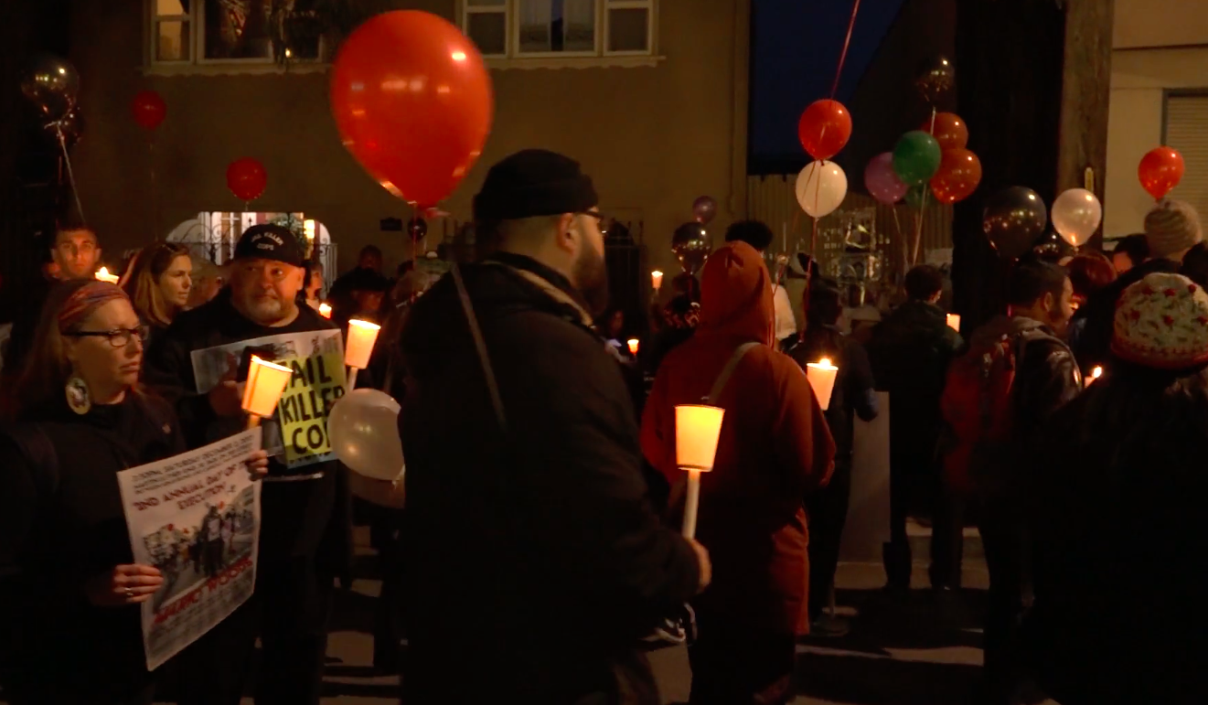 VIDEO: March honors SF police shooting victim Mario Woods