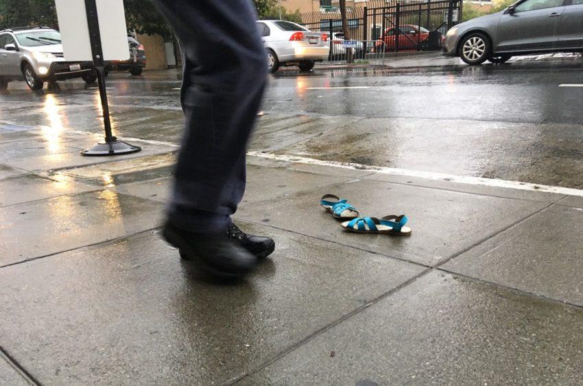 SNAP: Rainy day shoes