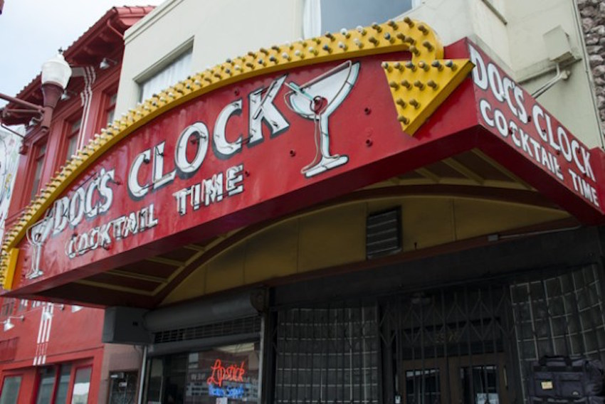 Doc's Clock raising money to bring back iconic sign