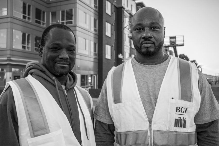 Breaking Ground: Two formerly incarcerated men rebuild their lives while rebuilding a Bayview public housing community