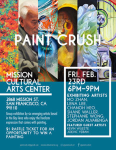 MCCLA: Paint Crush Art Show - Mission Local