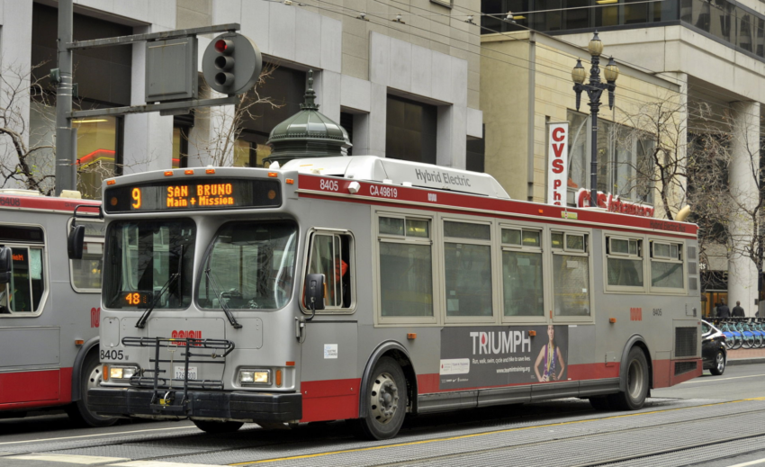 Pollution-control program not upgraded on scores of SF's Muni buses