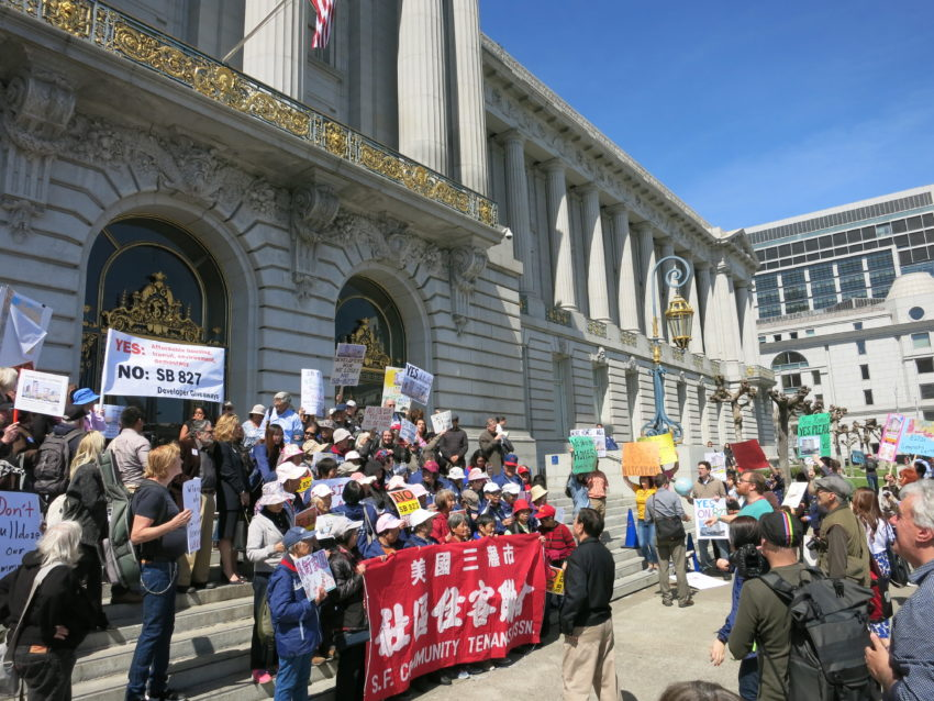 SF supervisors thumb noses at SB 827
