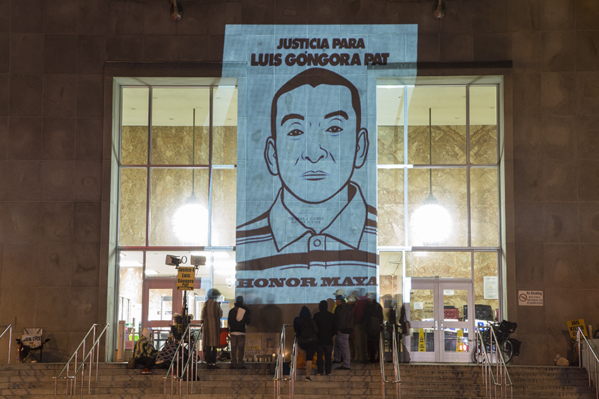 Family of slain immigrant hold 24-hour vigil, demand action at Hall of Justice
