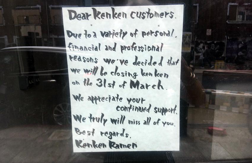 SNAP: Ken-Ken no more