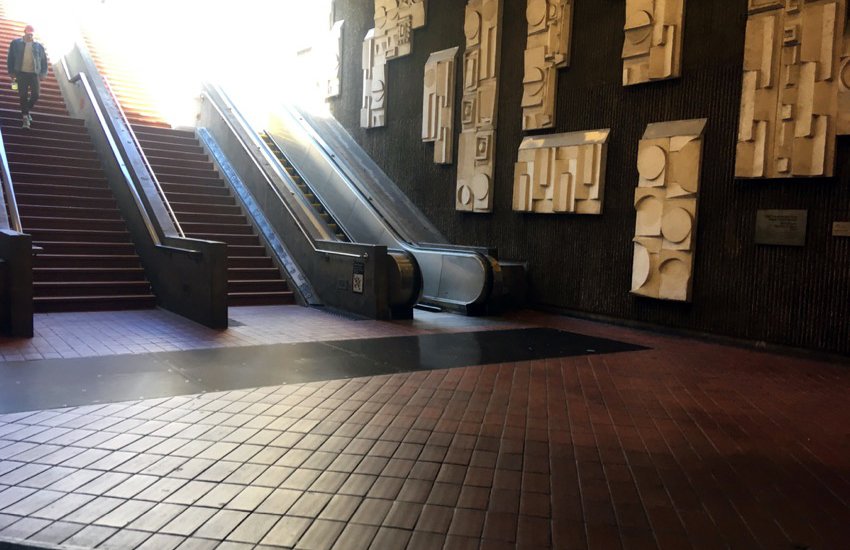What's with the 16th Street BART escalators?