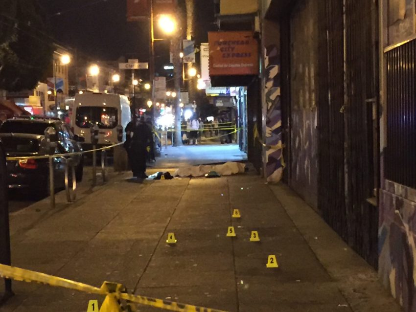 Mission homicides down 17 percent in overall trend