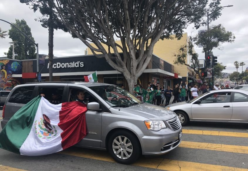 Mexico topples reigning champ Germany, and World Cup fans storm the Mission