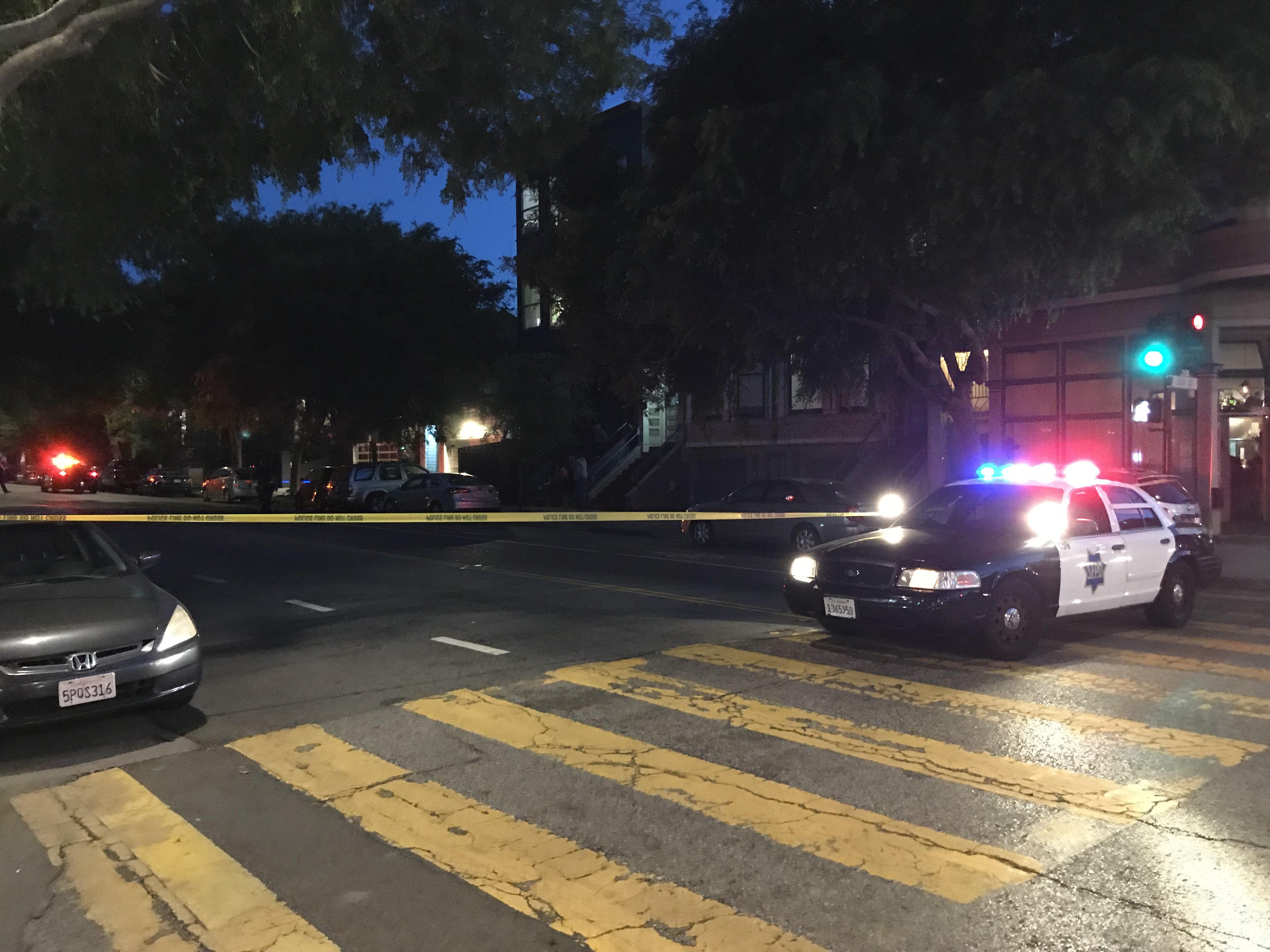Man in hospital after shooting on Folsom Street