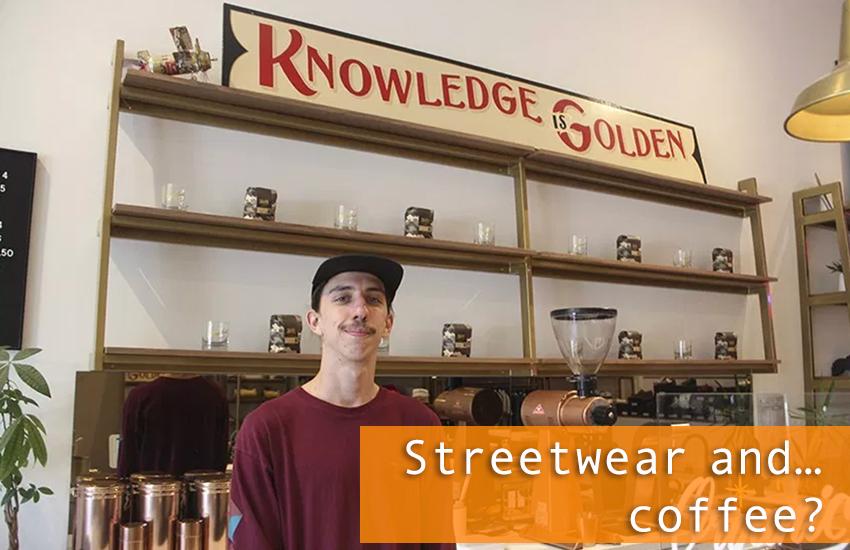 Streetwear and … coffee?