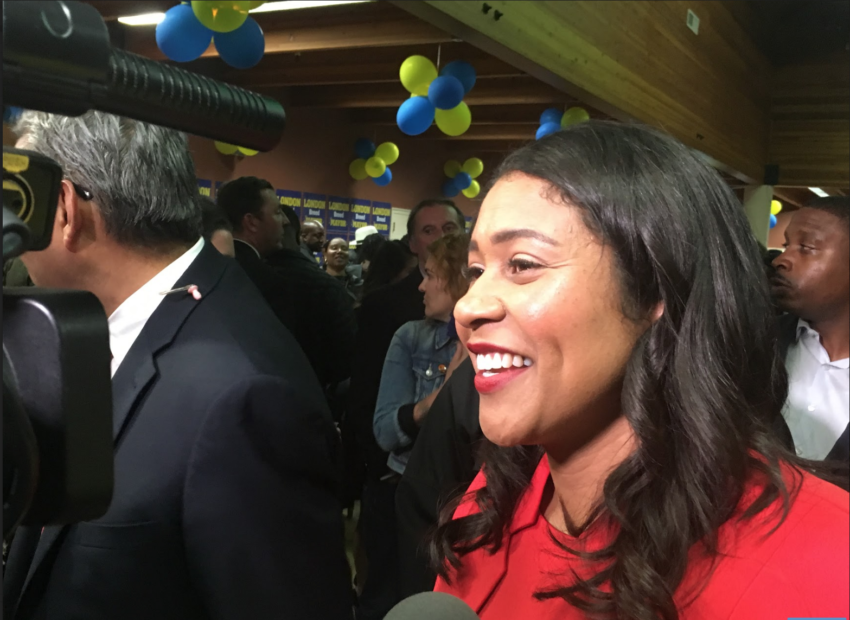 Mayor London Breed can date whomever she wants. She cannot take money from whomever she wants.