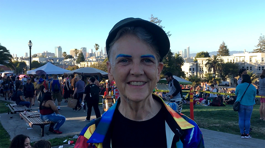 Video: Pride at Dolores Park