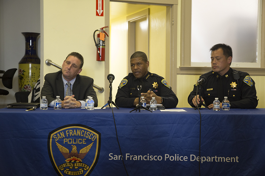 San Francisco police reveal videos of officer shooting fleeing man