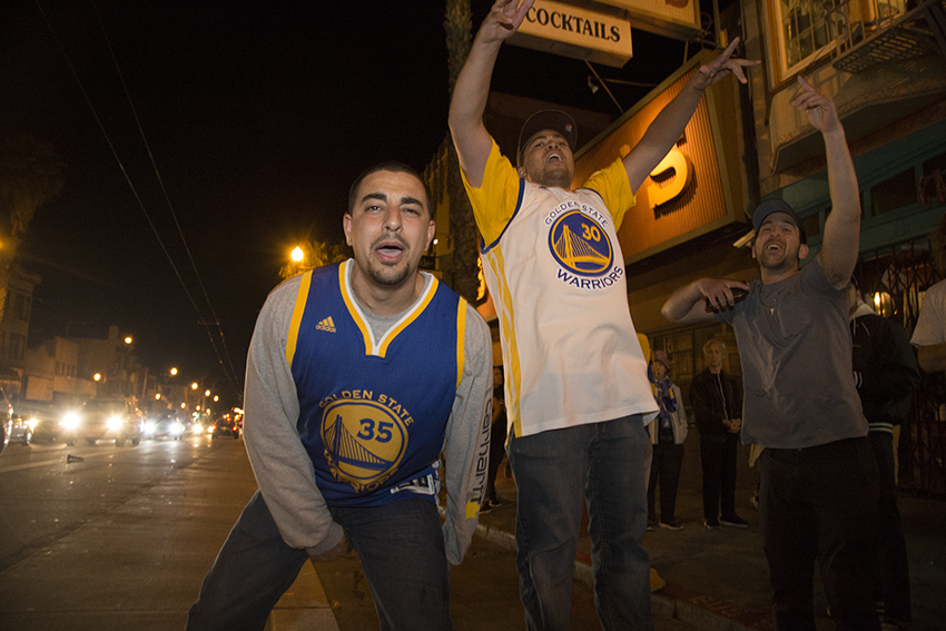 Warriors sweep the Cavaliers and the Mission celebrates (PHOTOS!)