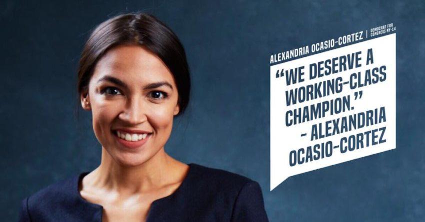 Alexandria Ocasio-Cortez hits SF's Mission