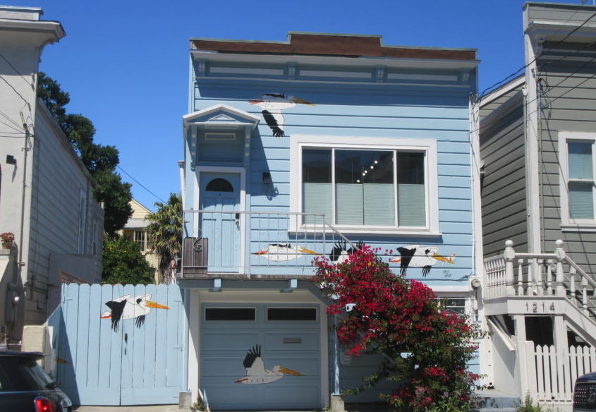 Photo Essay: SF Mission houses and garages