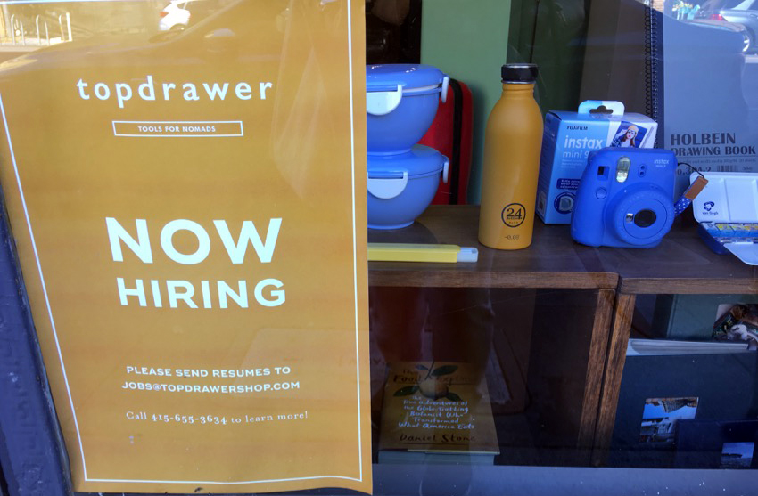 Top Drawer is now hiring