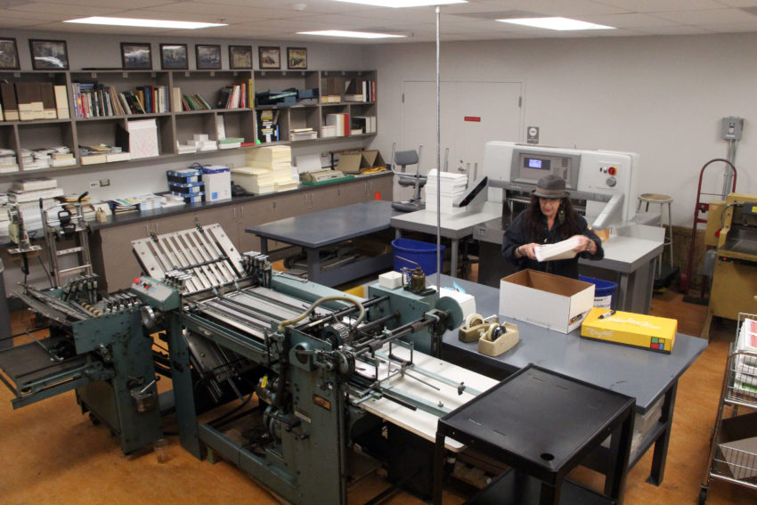 City College's print shop is a vestige of San Francisco's past — but it's not ready to publish its epitaph yet